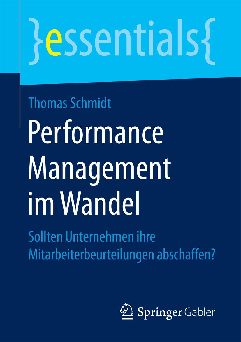 Schmidt, Thomas - Performance Management im Wandel, e-kirja