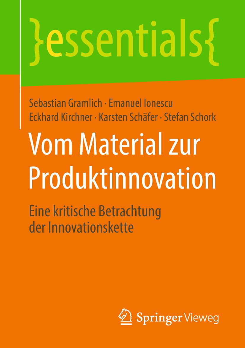 Gramlich, Sebastian - Vom Material zur Produktinnovation, ebook