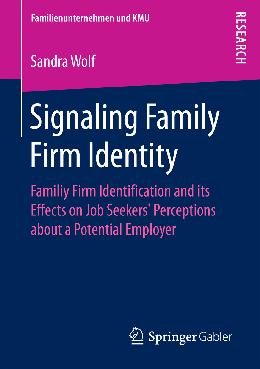 Wolf, Sandra - Signaling Family Firm Identity, ebook