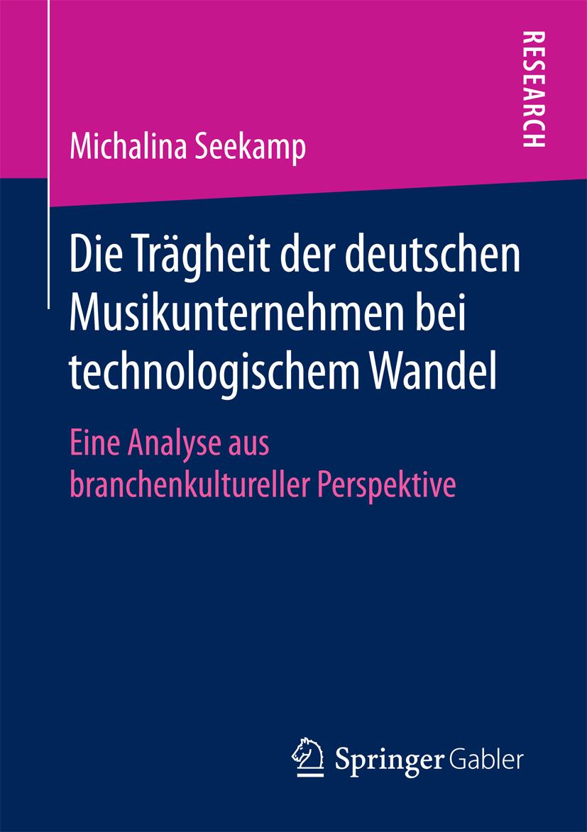 Seekamp, Michalina - Die Trägheit der deutschen Musikunternehmen bei technologischem Wandel, ebook