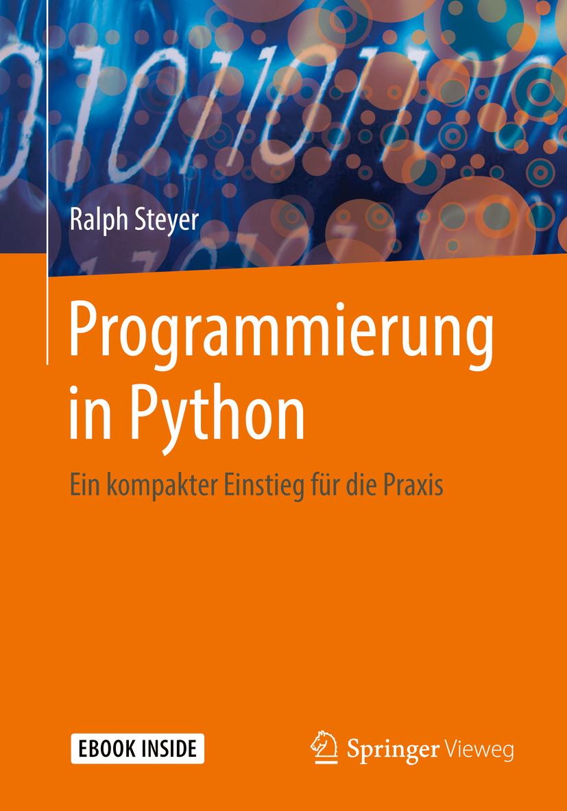 Steyer, Ralph - Programmierung in Python, ebook
