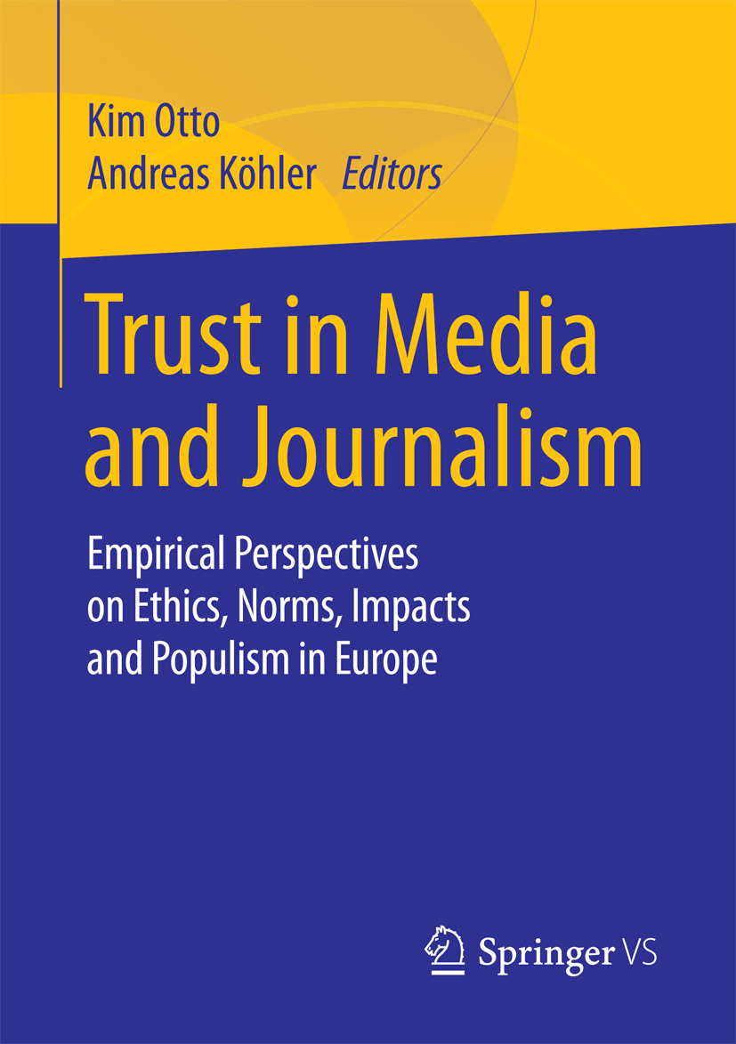 Köhler, Andreas - Trust in Media and Journalism, ebook