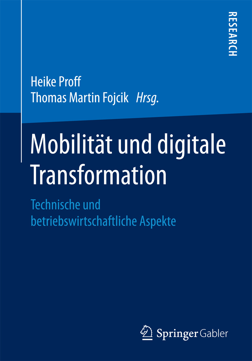 Fojcik, Thomas Martin - Mobilität und digitale Transformation, ebook