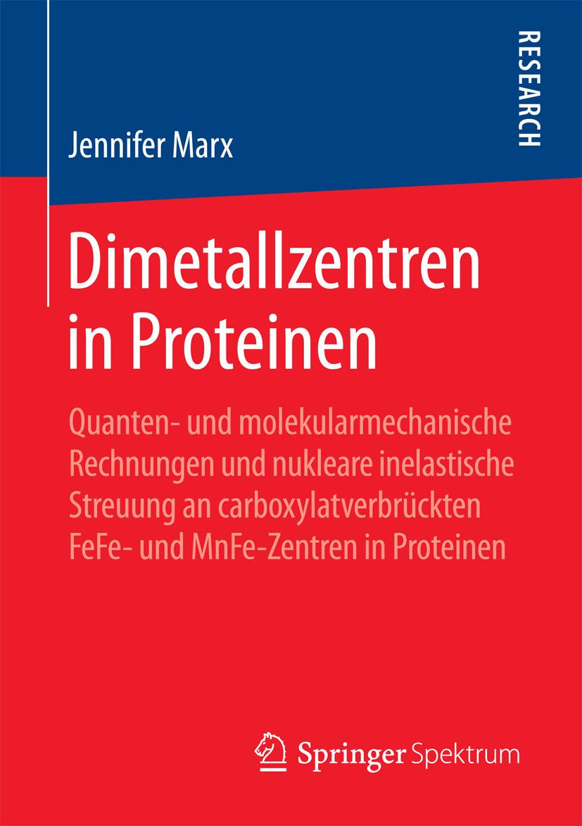 Marx, Jennifer - Dimetallzentren in Proteinen, ebook