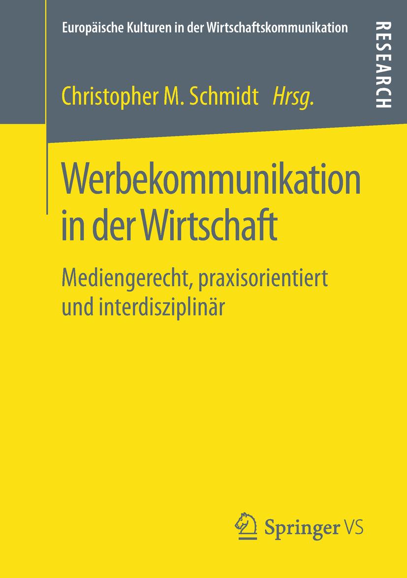 Schmidt, Christopher M. - Werbekommunikation in der Wirtschaft, ebook