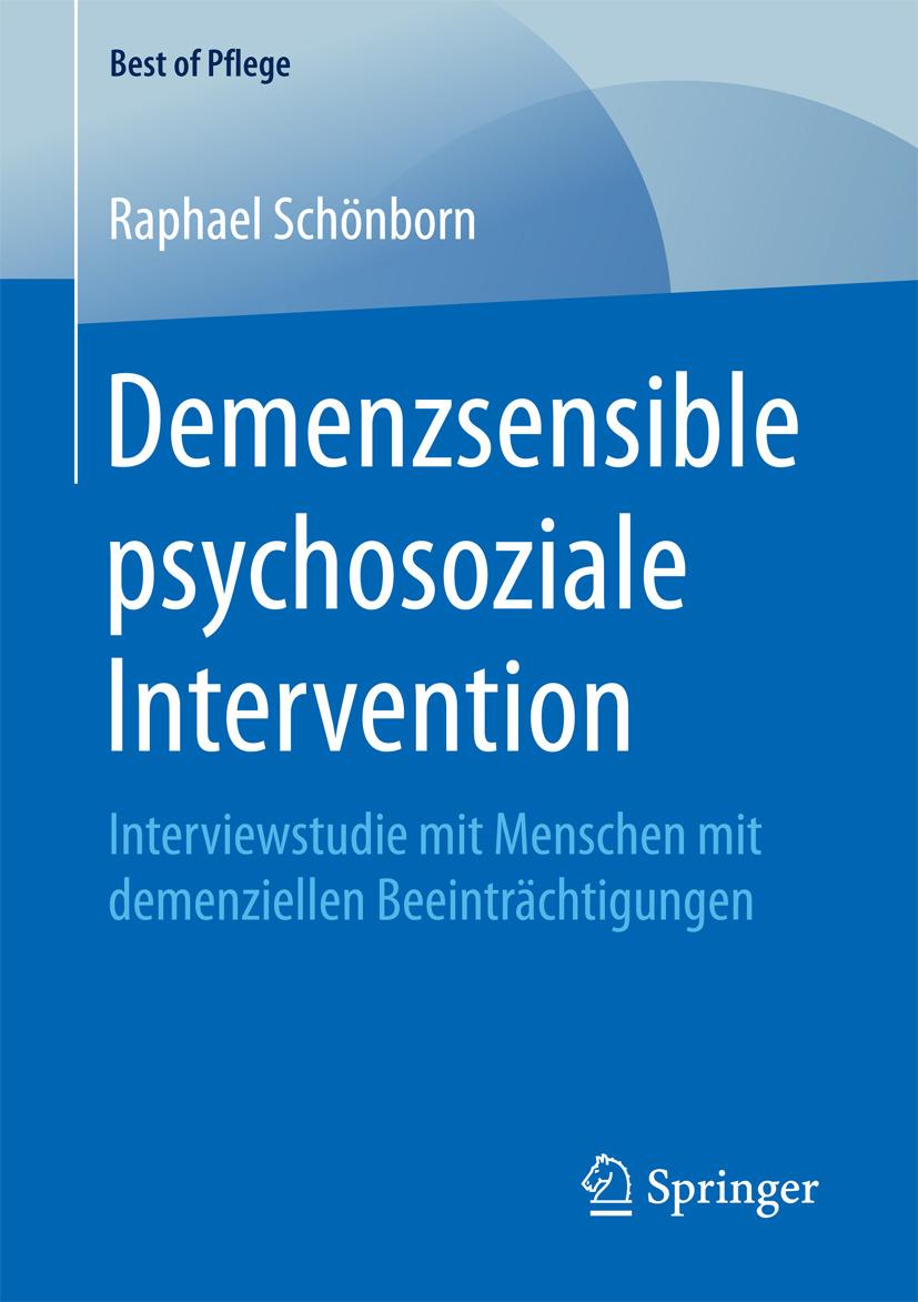 Schönborn, Raphael - Demenzsensible psychosoziale Intervention, ebook
