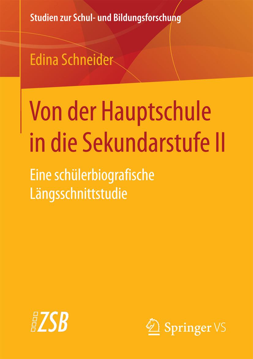 Schneider, Edina - Von der Hauptschule in die Sekundarstufe II, ebook