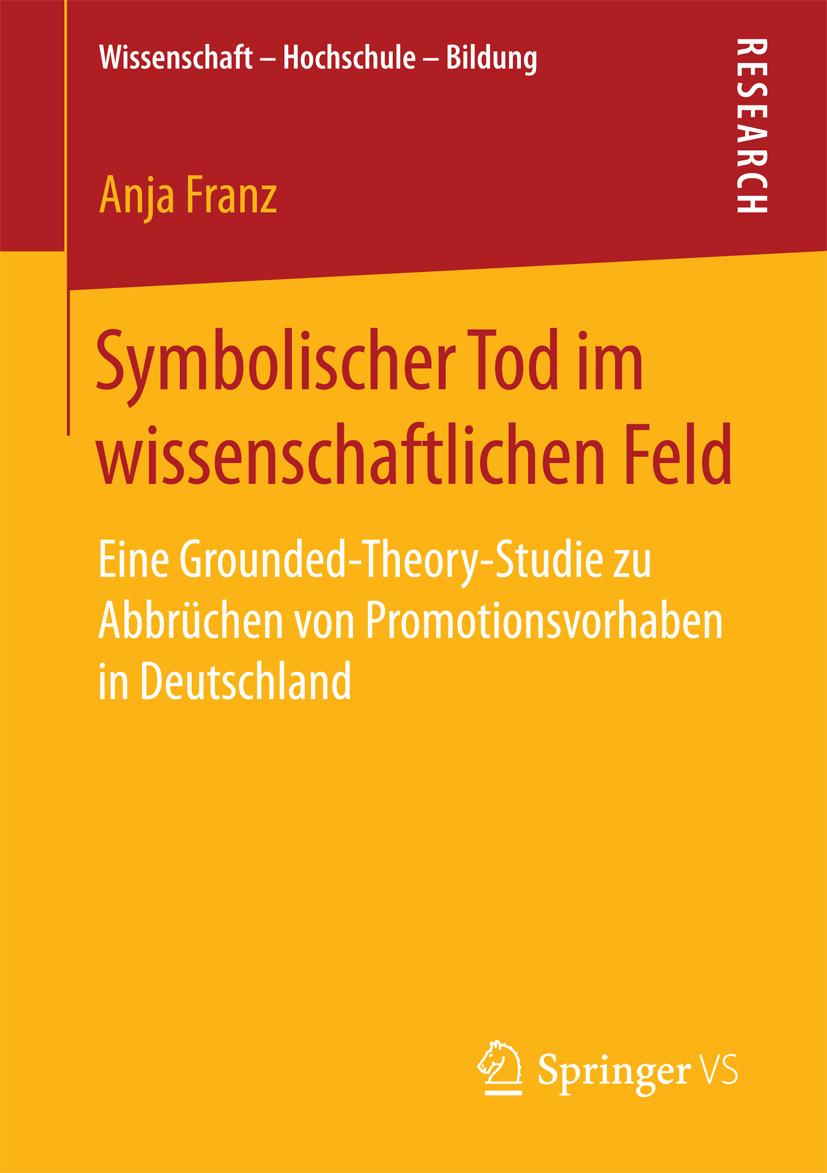 Franz, Anja - Symbolischer Tod im wissenschaftlichen Feld, ebook