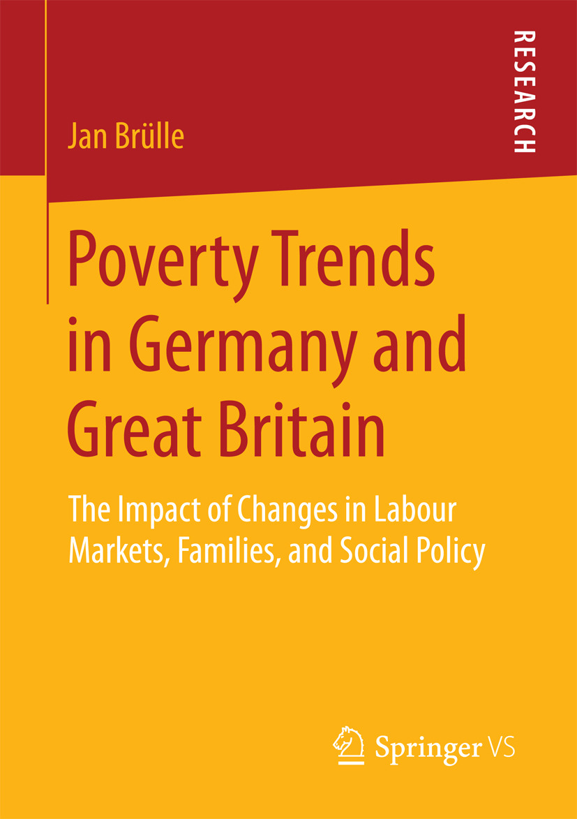 Brülle, Jan - Poverty Trends in Germany and Great Britain, ebook