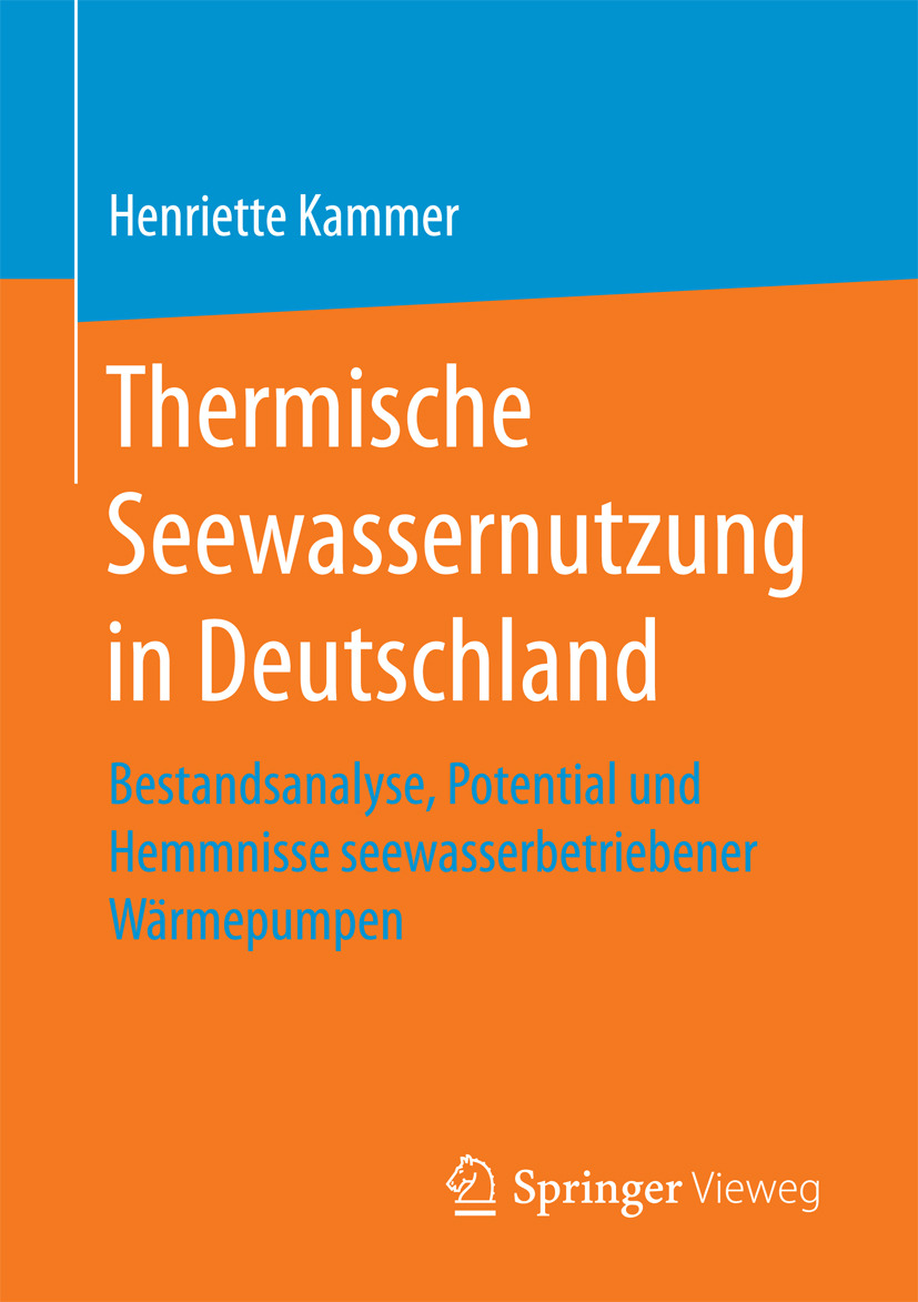 Kammer, Henriette - Thermische Seewassernutzung in Deutschland, ebook