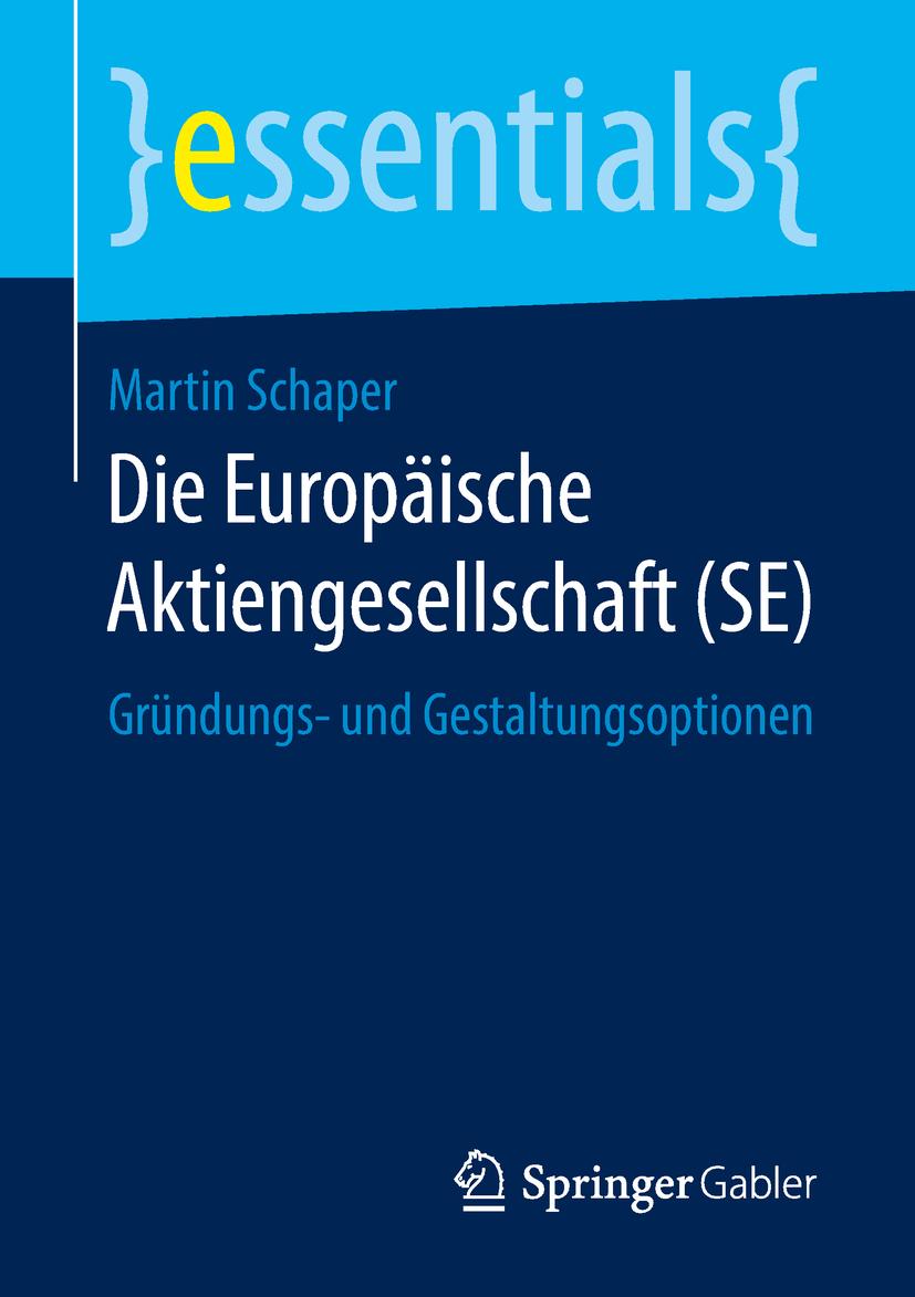 Schaper, Martin - Die Europäische Aktiengesellschaft (SE), ebook