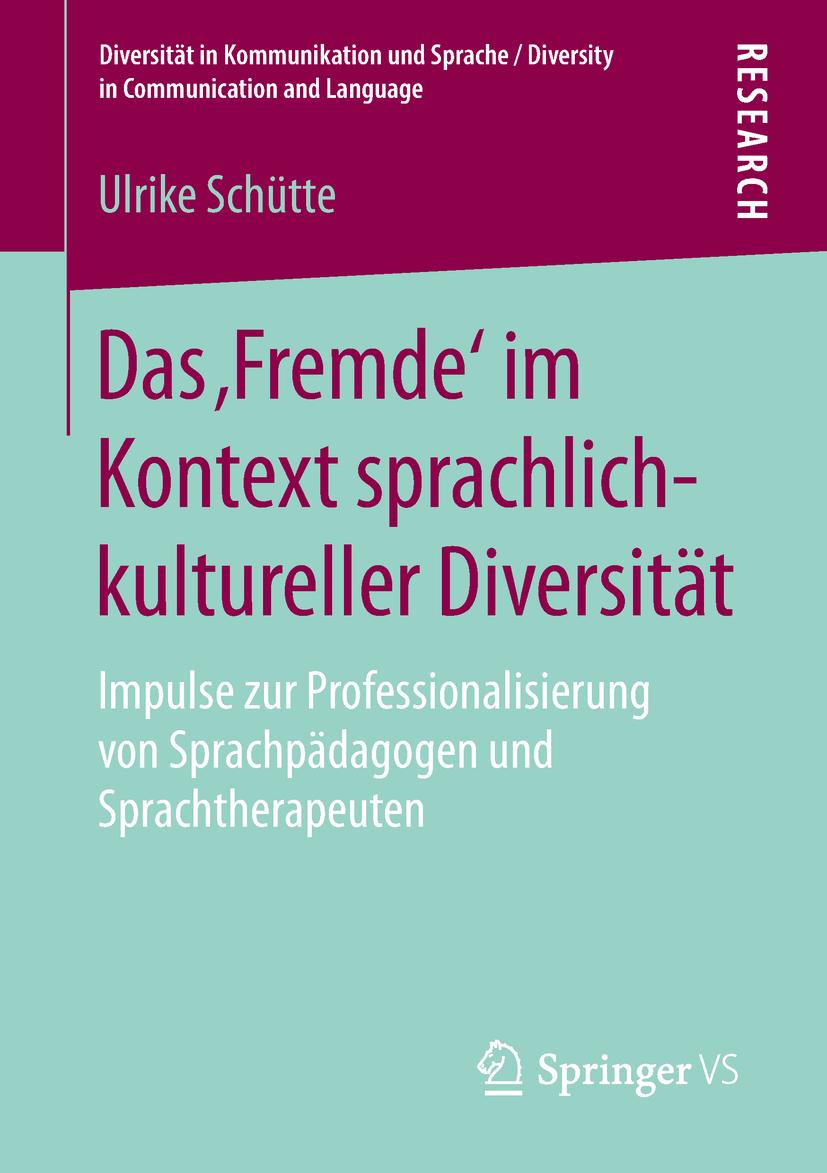 Schütte, Ulrike - Das 'Fremde' im Kontext sprachlich-kultureller Diversität, ebook