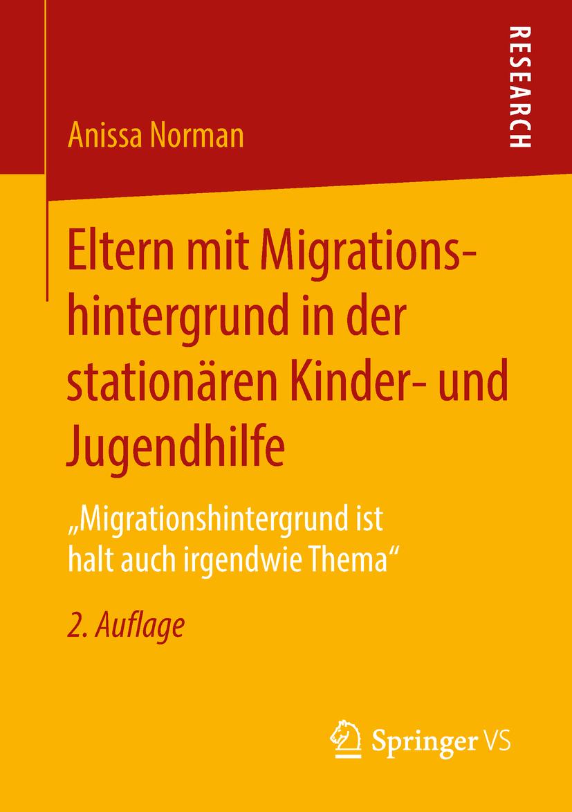 Norman, Anissa - Eltern mit Migrationshintergrund in der stationären Kinder- und Jugendhilfe, ebook