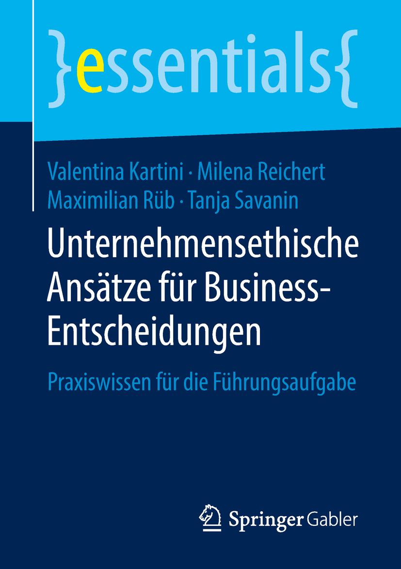 Kartini, Valentina - Unternehmensethische Ansätze für Business-Entscheidungen, ebook