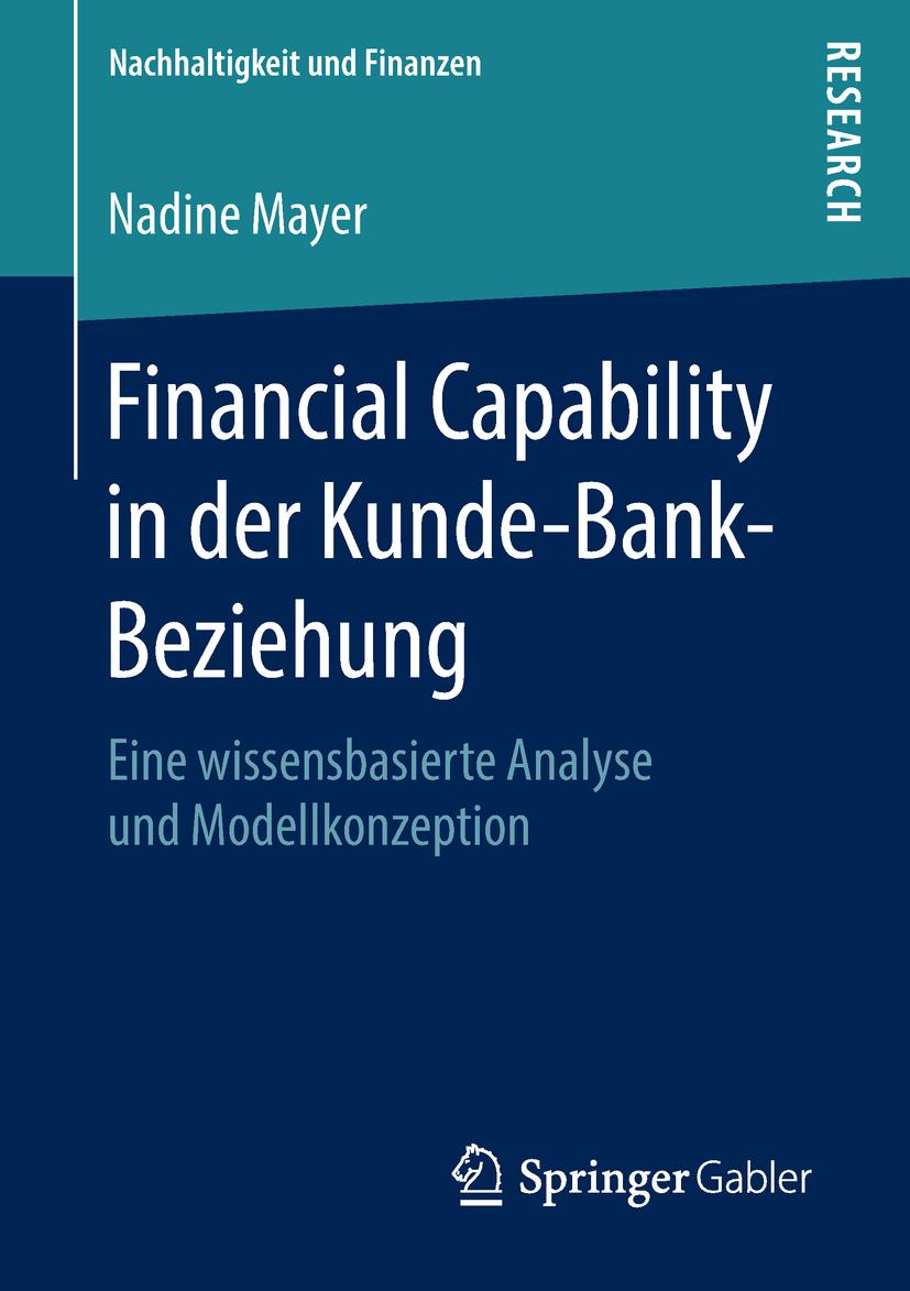 Mayer, Nadine - Financial Capability in der Kunde-Bank-Beziehung, ebook