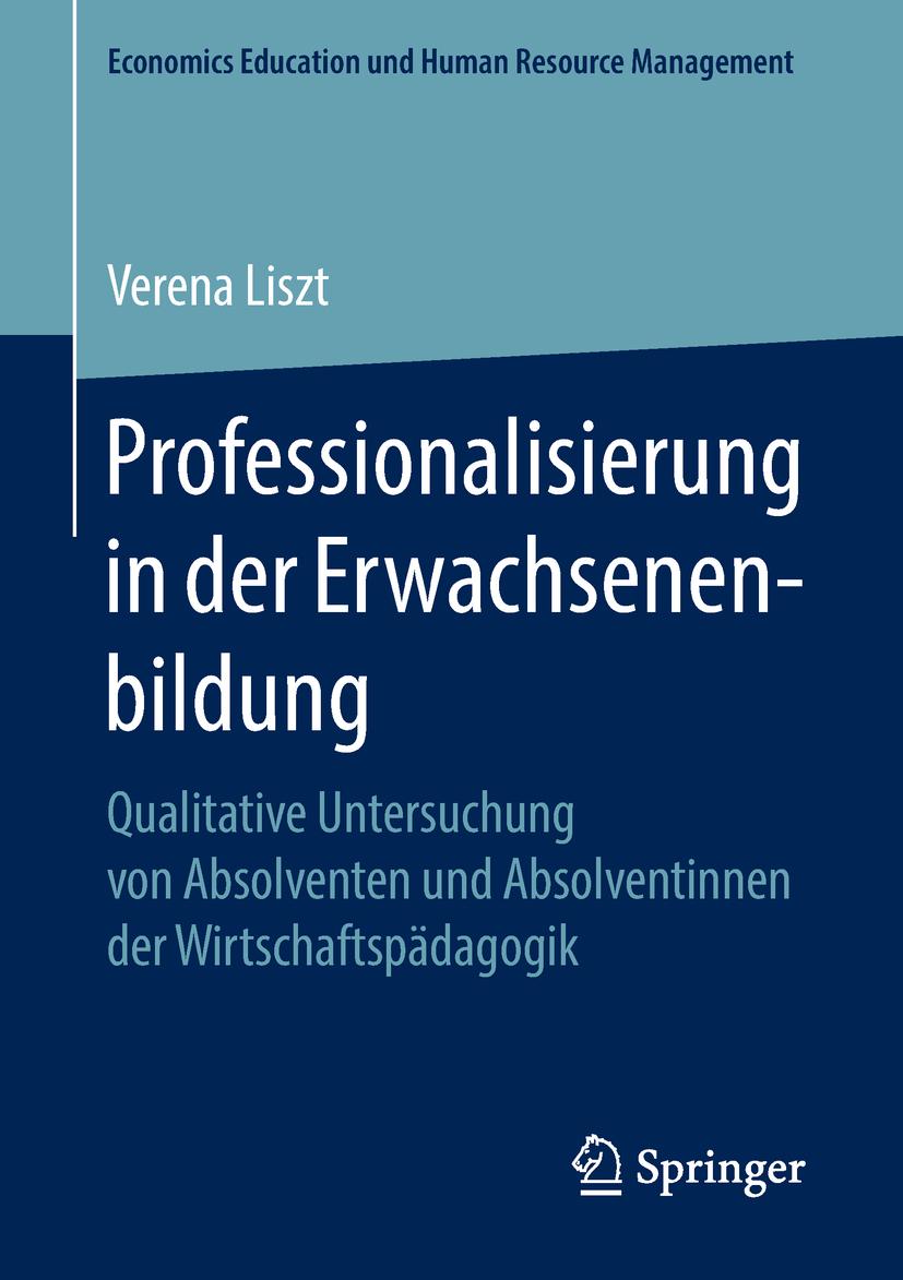 Liszt, Verena - Professionalisierung in der Erwachsenenbildung, ebook