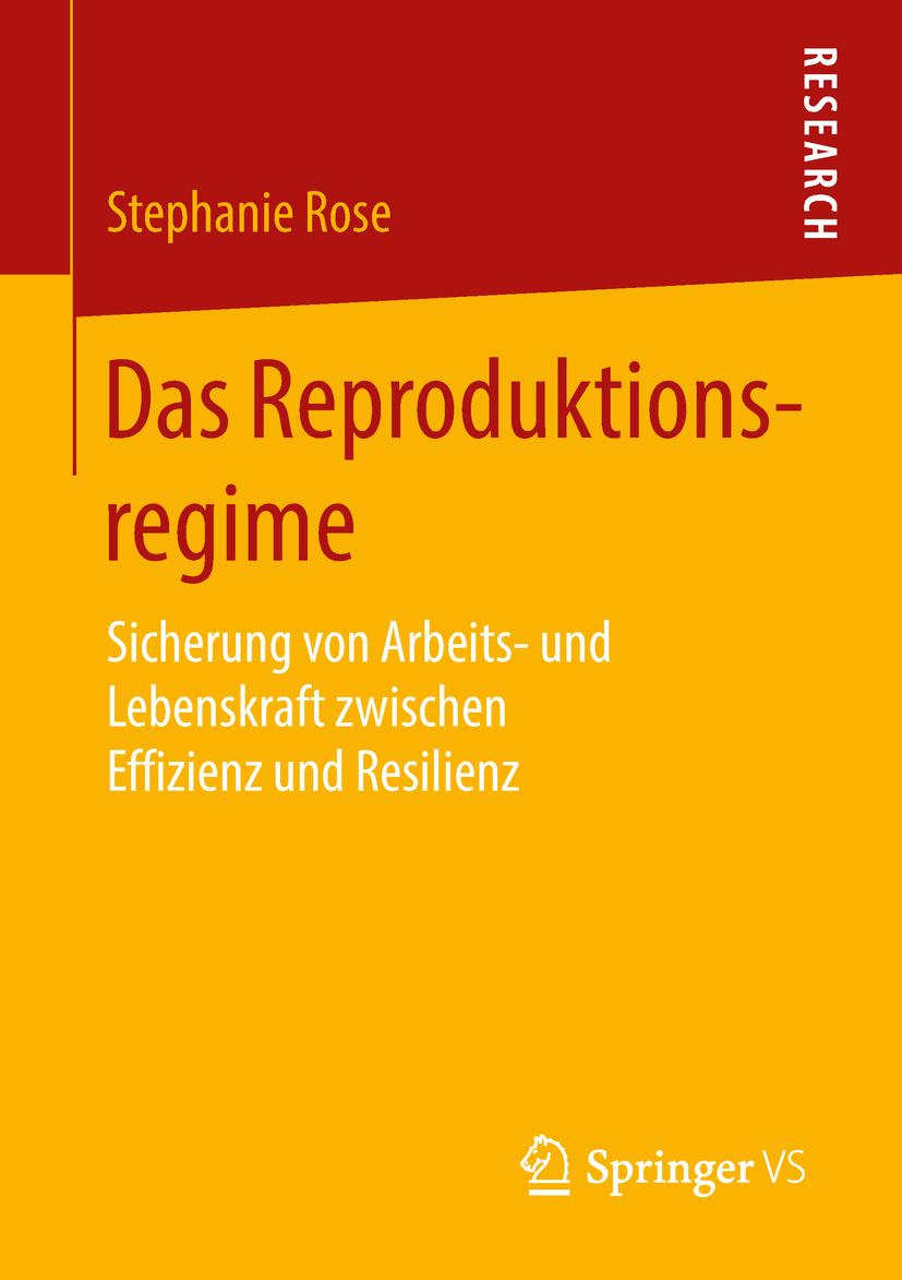 Rose, Stephanie - Das Reproduktionsregime, ebook