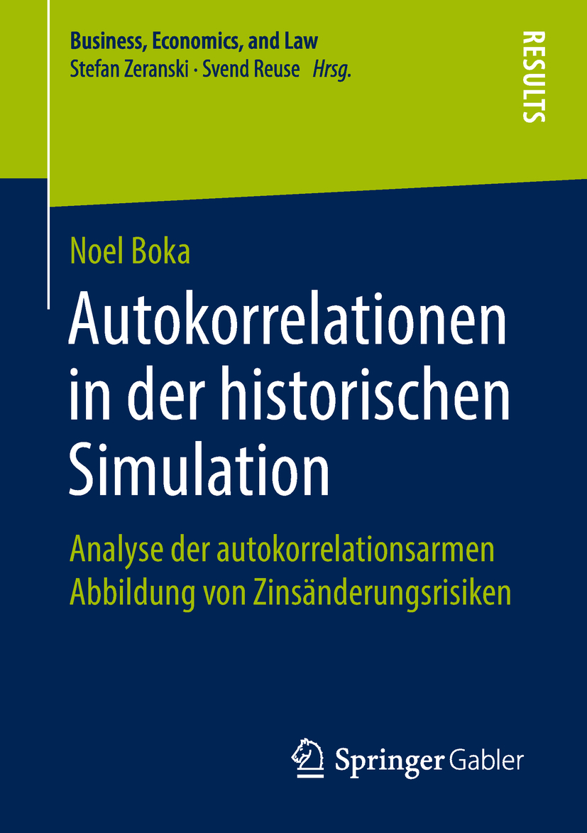 Boka, Noel - Autokorrelationen in der historischen Simulation, ebook