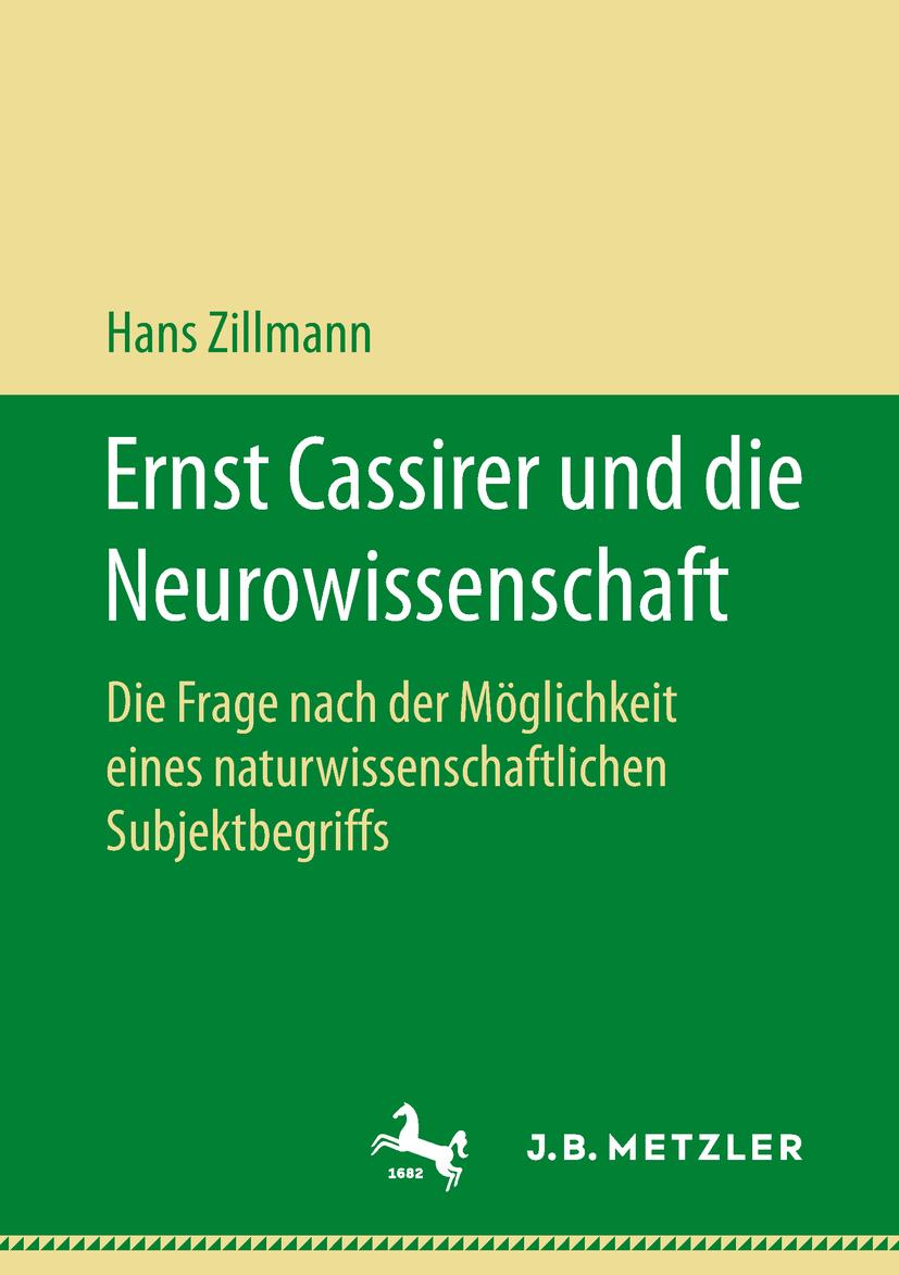 Zillmann, Hans - Ernst Cassirer und die Neurowissenschaft, ebook
