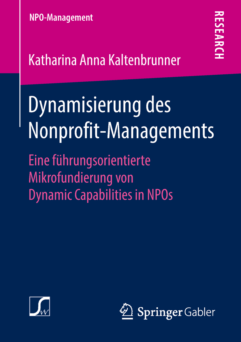 Kaltenbrunner, Katharina Anna - Dynamisierung des Nonprofit-Managements, ebook