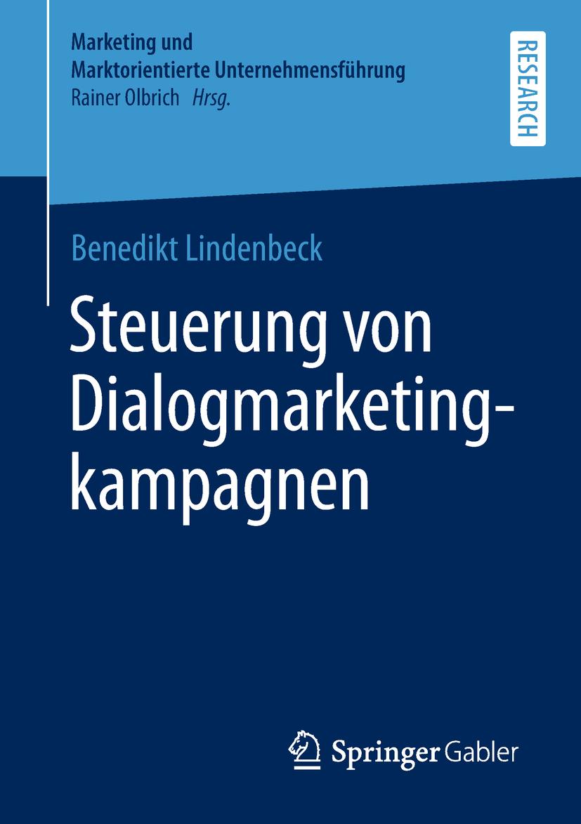 Lindenbeck, Benedikt - Steuerung von Dialogmarketingkampagnen, ebook