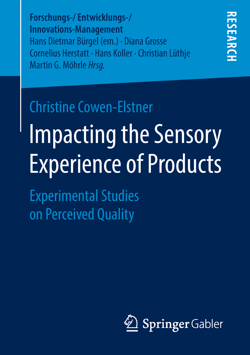 Cowen-Elstner, Christine - Impacting the Sensory Experience of Products, ebook
