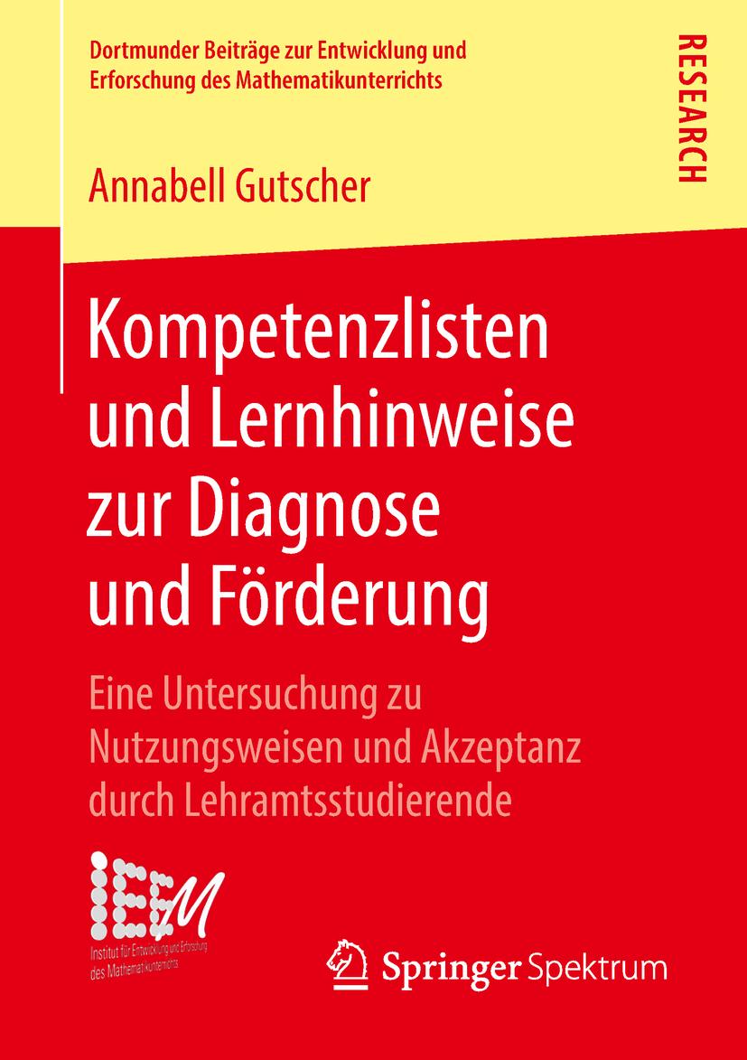 Gutscher, Annabell - Kompetenzlisten und Lernhinweise zur Diagnose und Förderung, e-bok