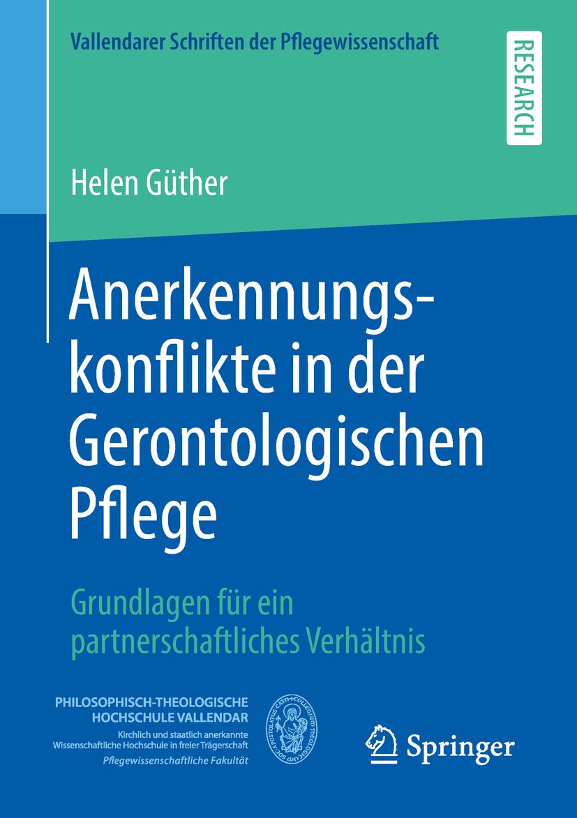 Güther, Helen - Anerkennungskonflikte in der Gerontologischen Pflege, ebook