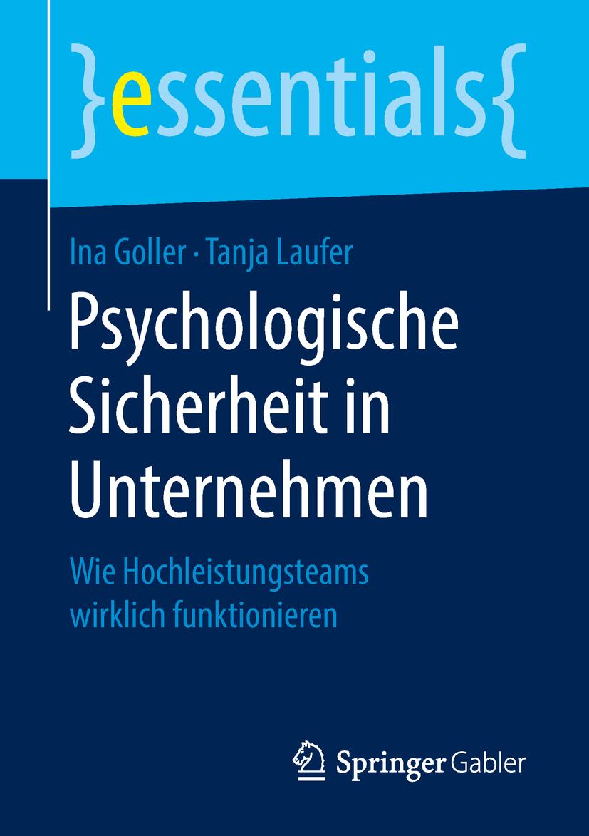 Goller, Ina - Psychologische Sicherheit in Unternehmen, ebook