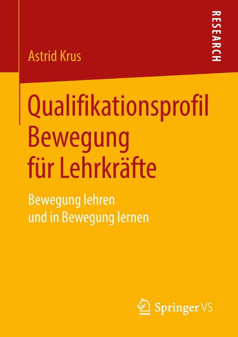 Krus, Astrid - Qualifikationsprofil Bewegung für Lehrkräfte, ebook