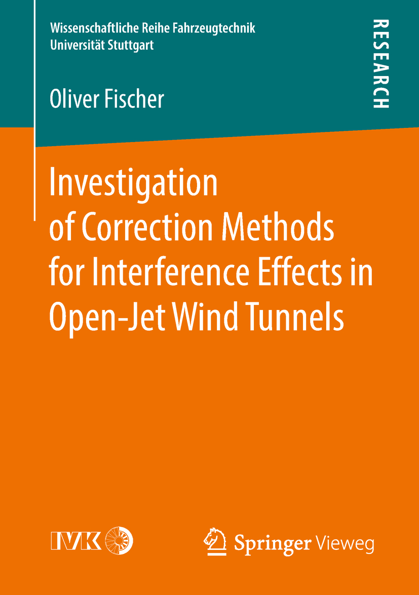 Fischer, Oliver - Investigation of Correction Methods for Interference Effects in Open-Jet Wind Tunnels, ebook