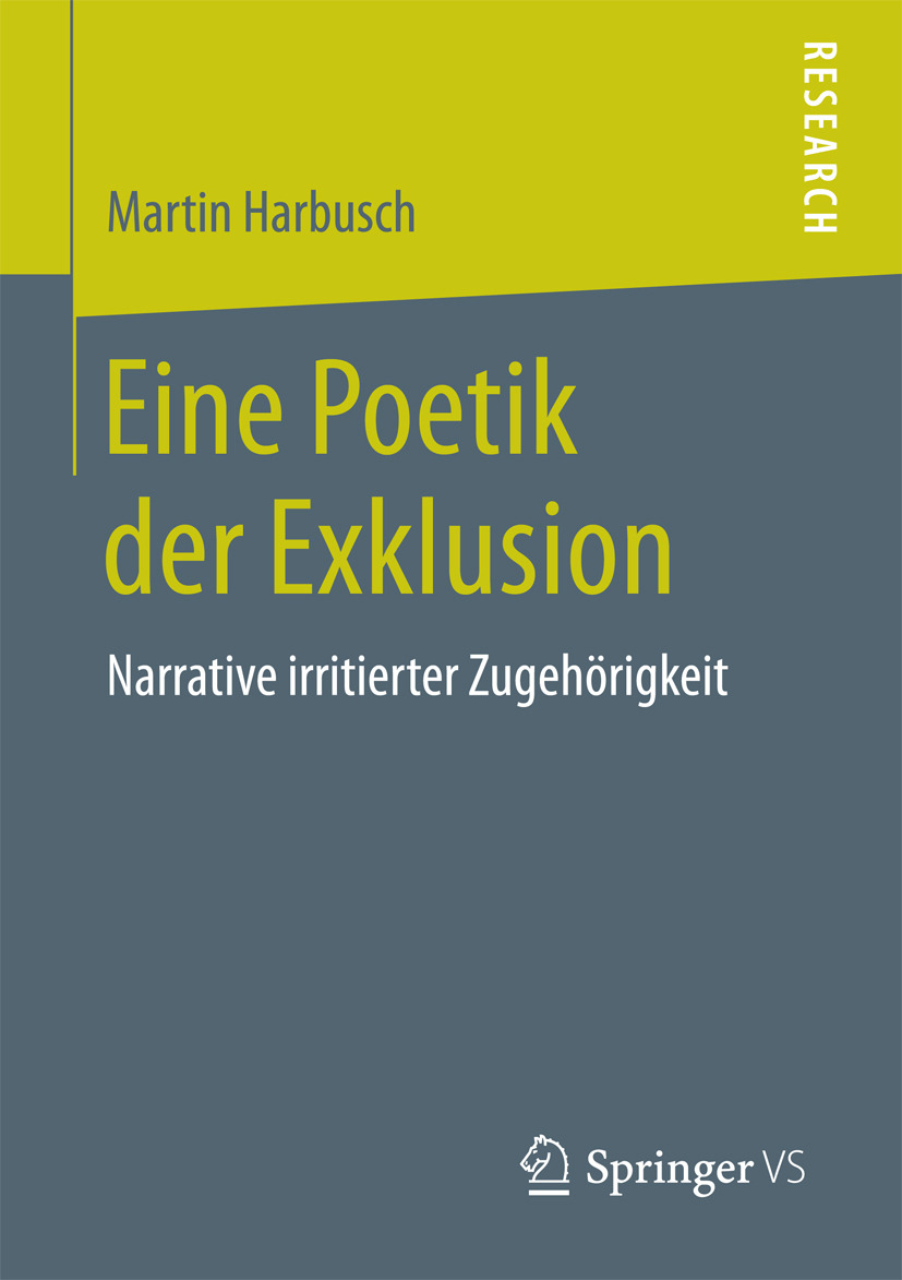 Harbusch, Martin - Eine Poetik der Exklusion, ebook