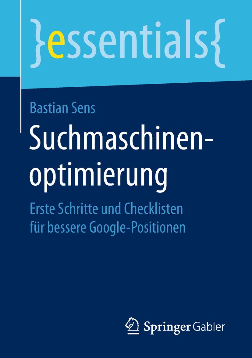 Sens, Bastian - Suchmaschinenoptimierung, ebook