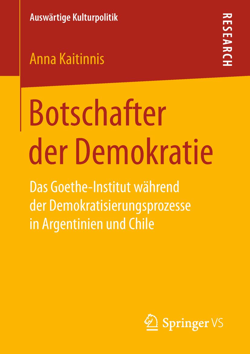 Kaitinnis, Anna - Botschafter der Demokratie, ebook