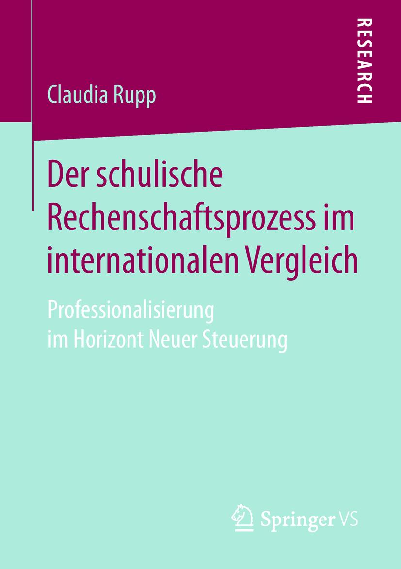 Rupp, Claudia - Der schulische Rechenschaftsprozess im internationalen Vergleich, ebook