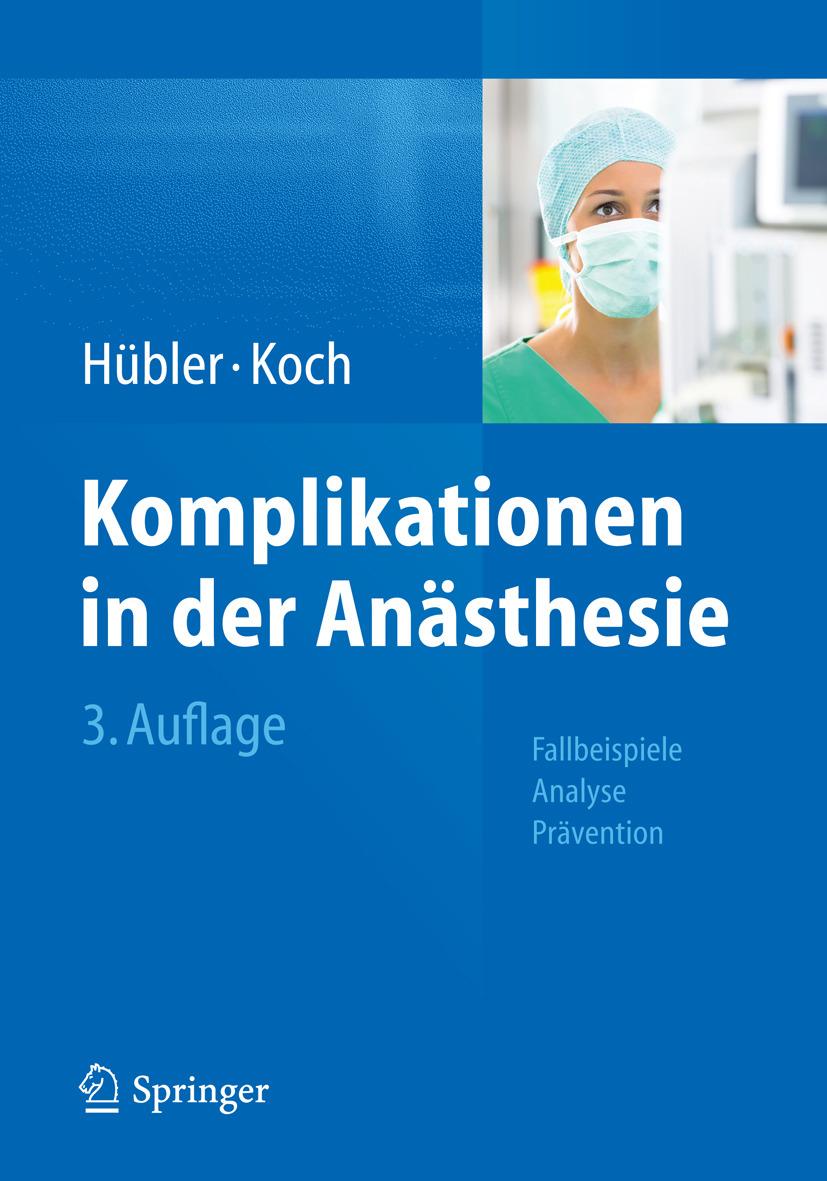 Hübler, Matthias - Komplikationen in der Anästhesie, ebook