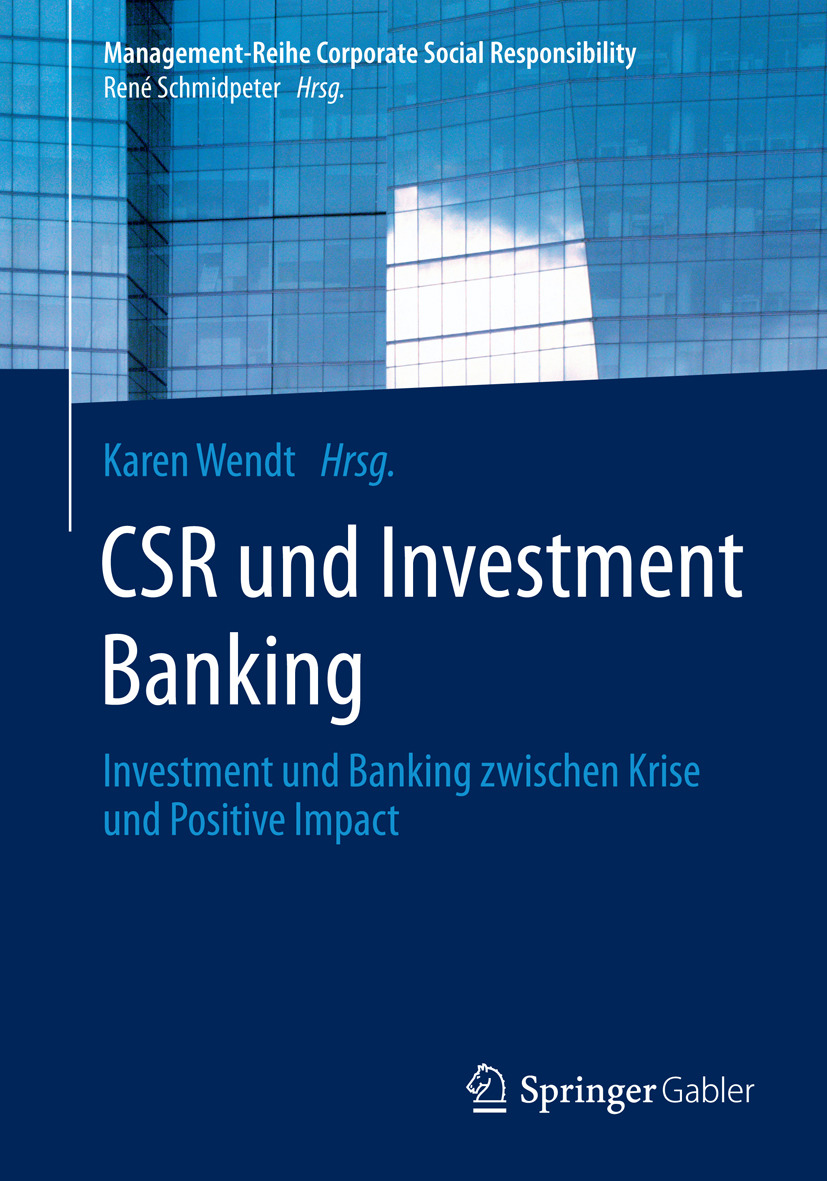 Wendt, Karen - CSR und Investment Banking, ebook