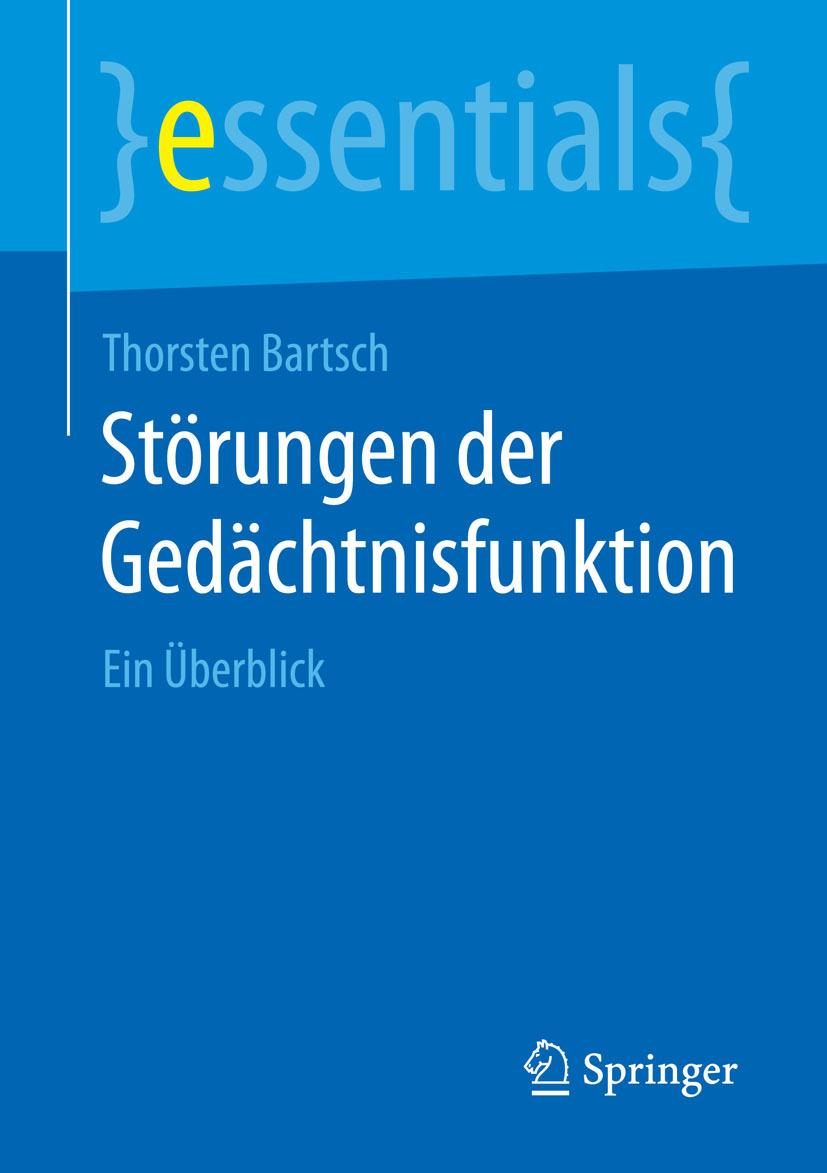 Bartsch, Thorsten - Störungen der Gedächtnisfunktion, ebook