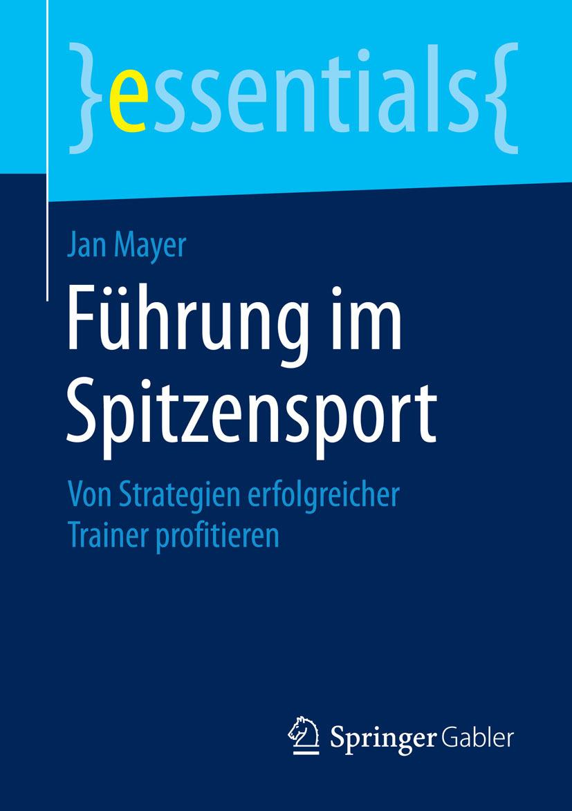 Mayer, Jan - Führung im Spitzensport, ebook