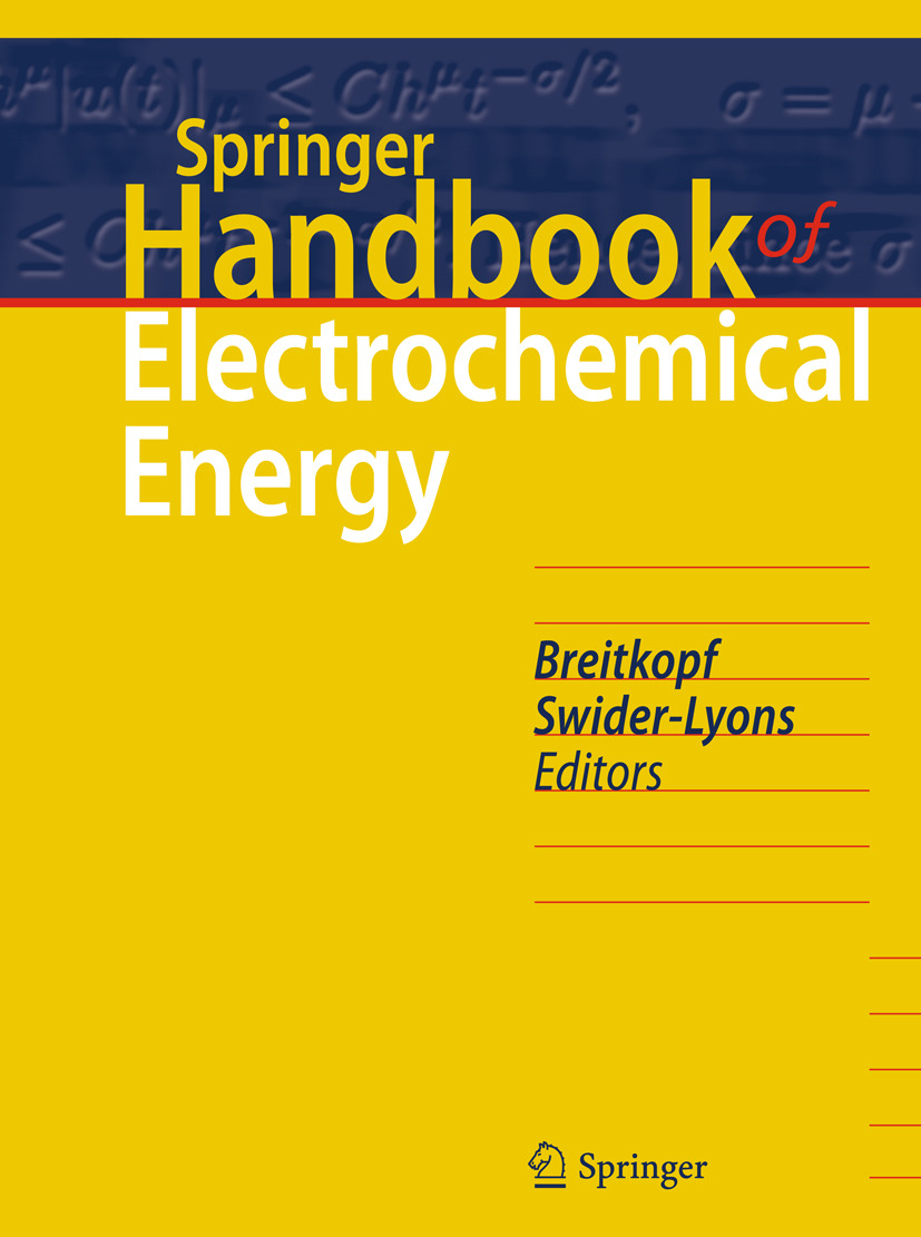 Breitkopf, Cornelia - Springer Handbook of Electrochemical Energy, ebook