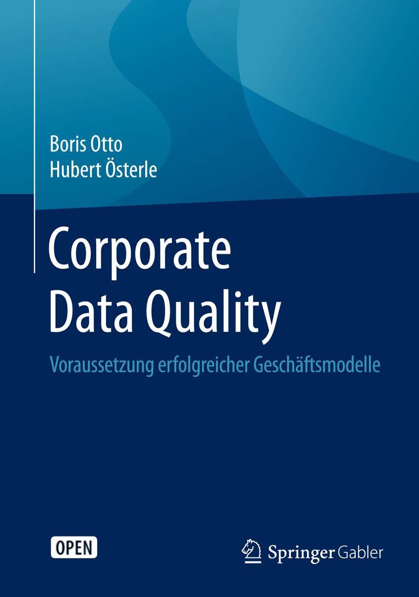 Otto, Boris - Corporate Data Quality, ebook