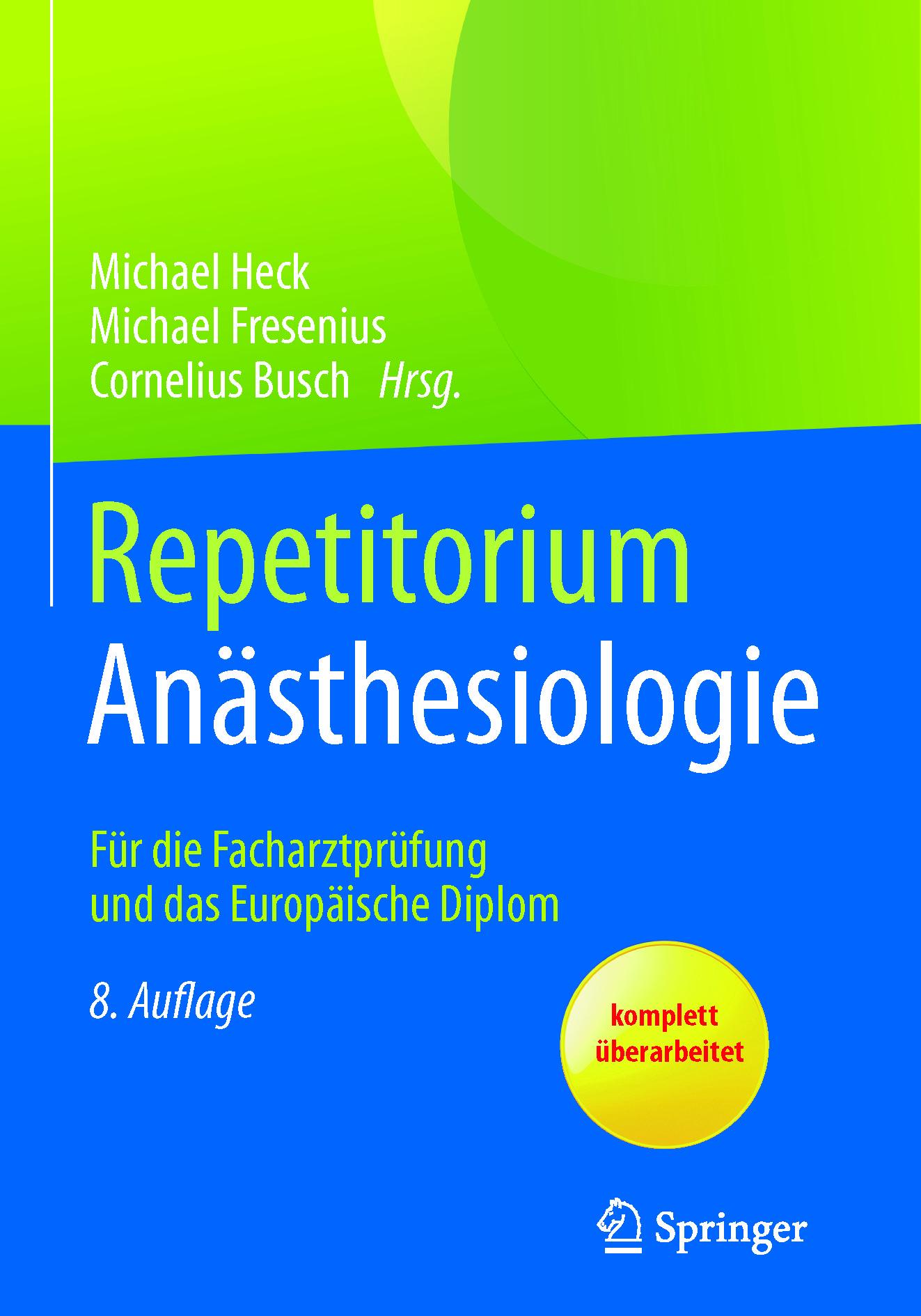 Busch, Cornelius - Repetitorium Anästhesiologie, ebook