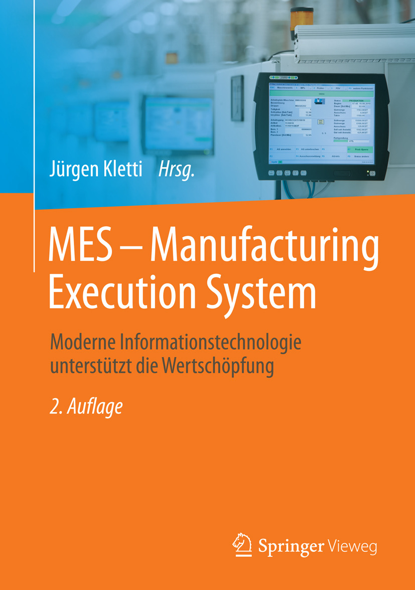 Kletti, Jürgen - MES - Manufacturing Execution System, ebook