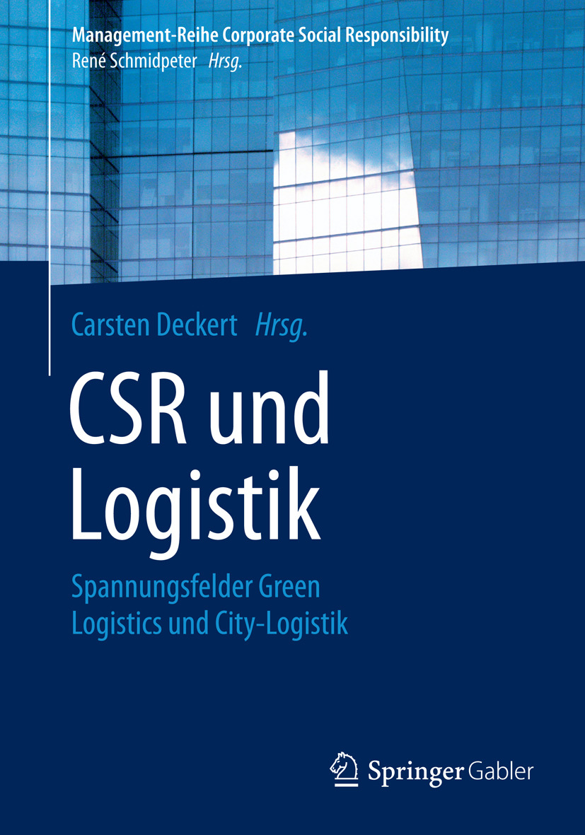 Deckert, Carsten - CSR und Logistik, ebook