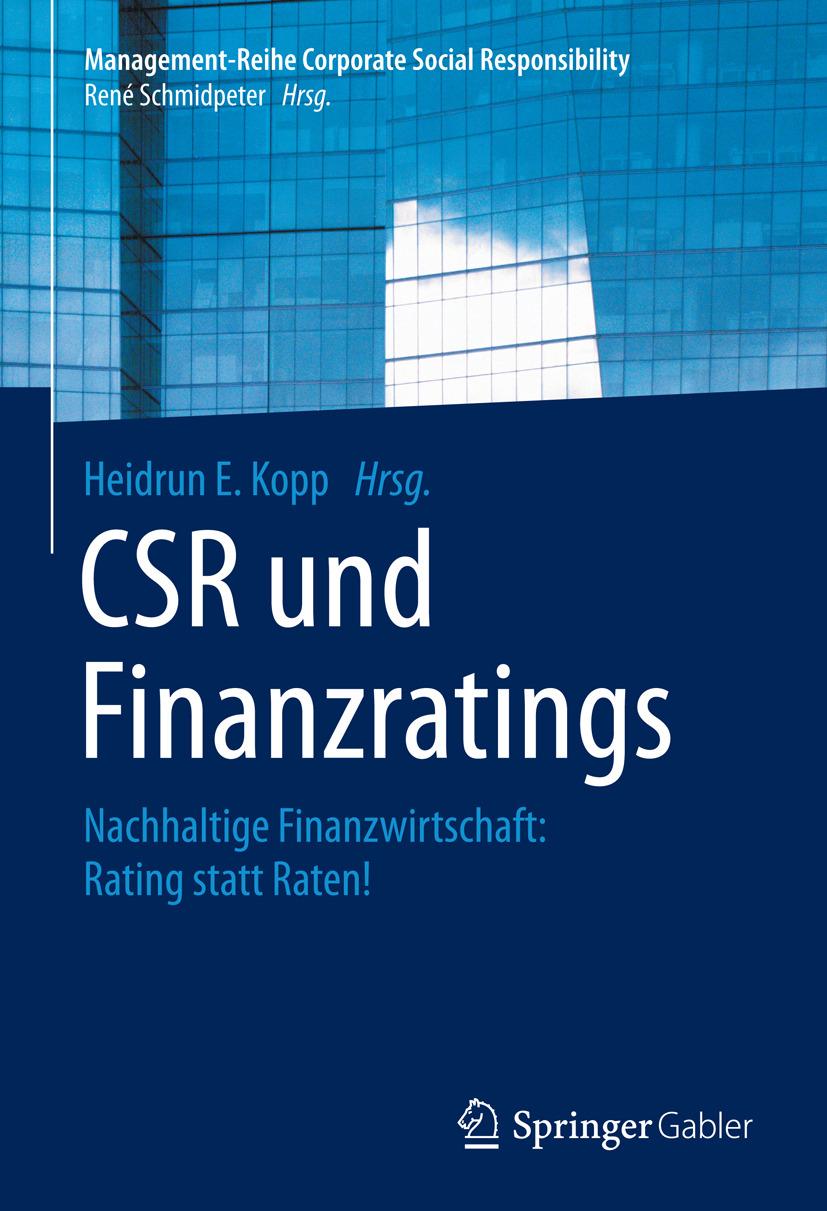 Kopp, Heidrun E. - CSR und Finanzratings, ebook