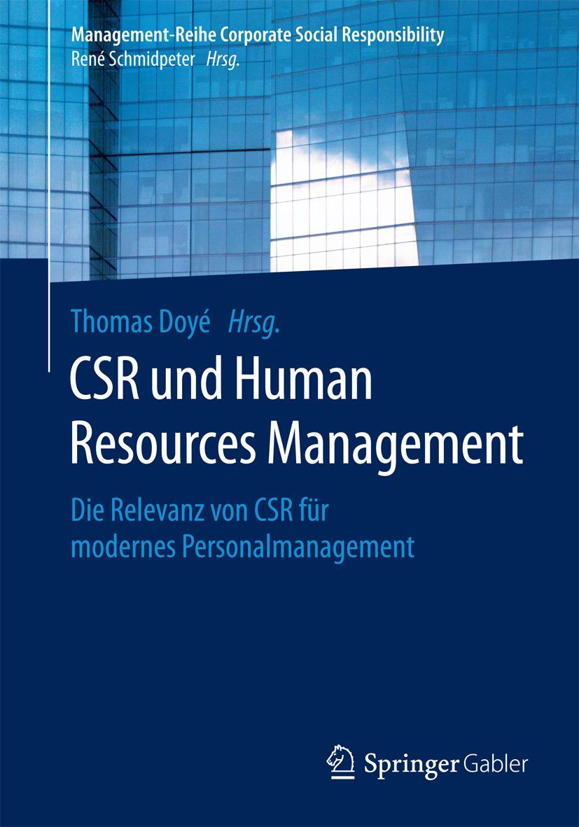 Doyé, Thomas - CSR und Human Resource Management, ebook