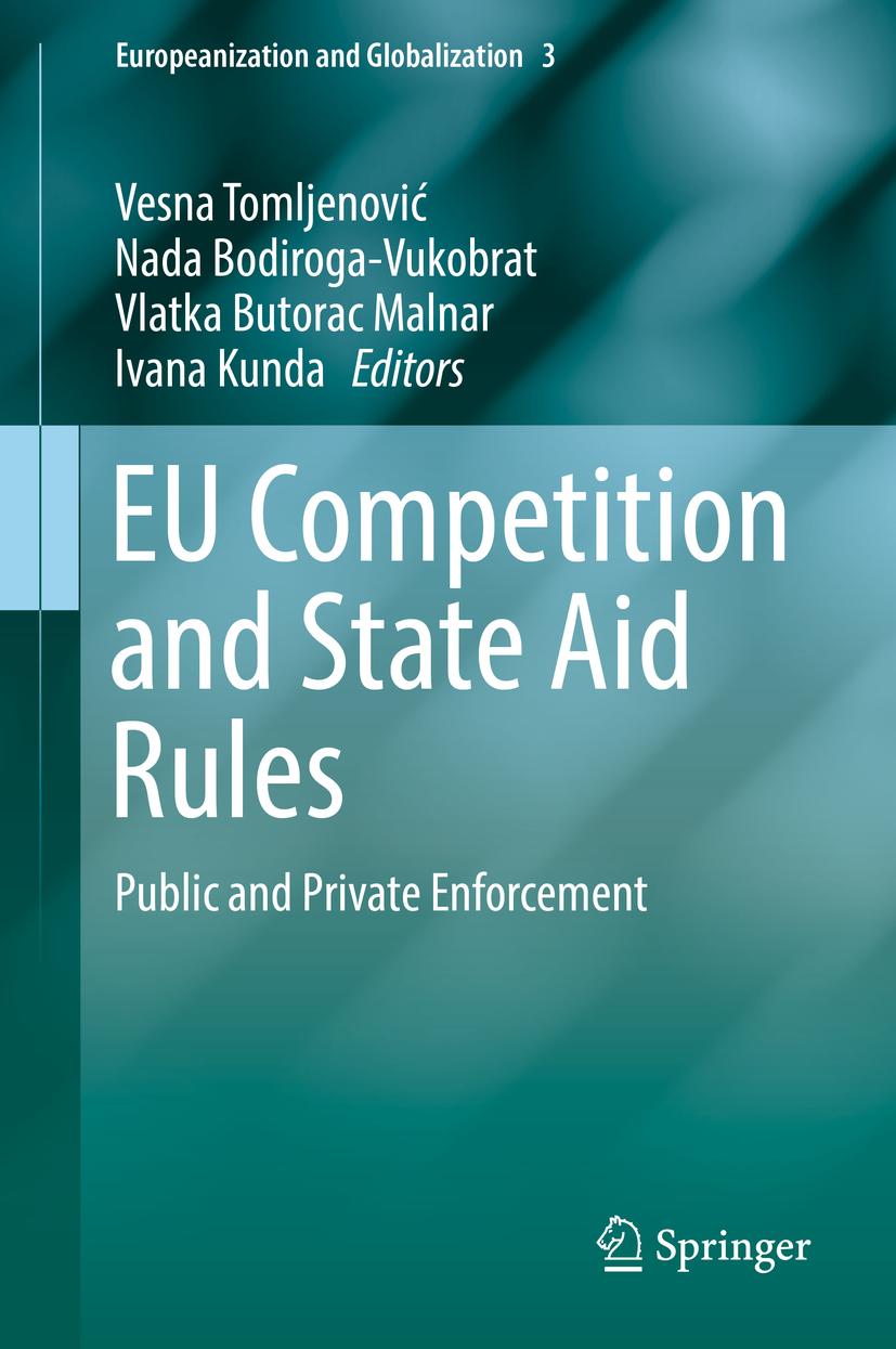 Bodiroga-Vukobrat, Nada - EU Competition and State Aid Rules, ebook