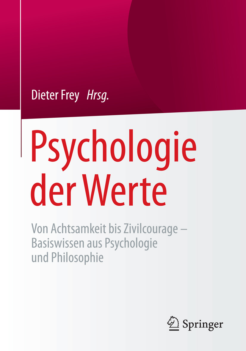 Frey, Dieter - Psychologie der Werte, ebook