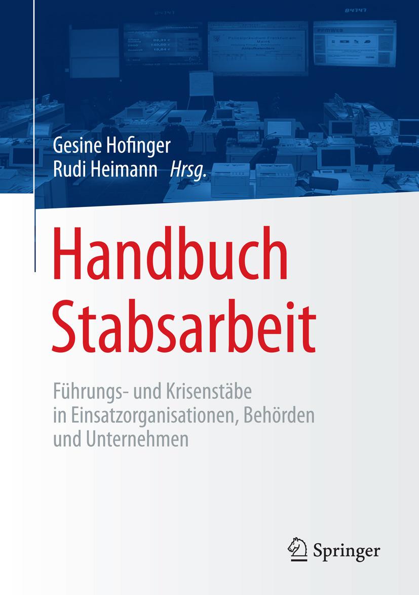 Heimann, Rudi - Handbuch Stabsarbeit, ebook
