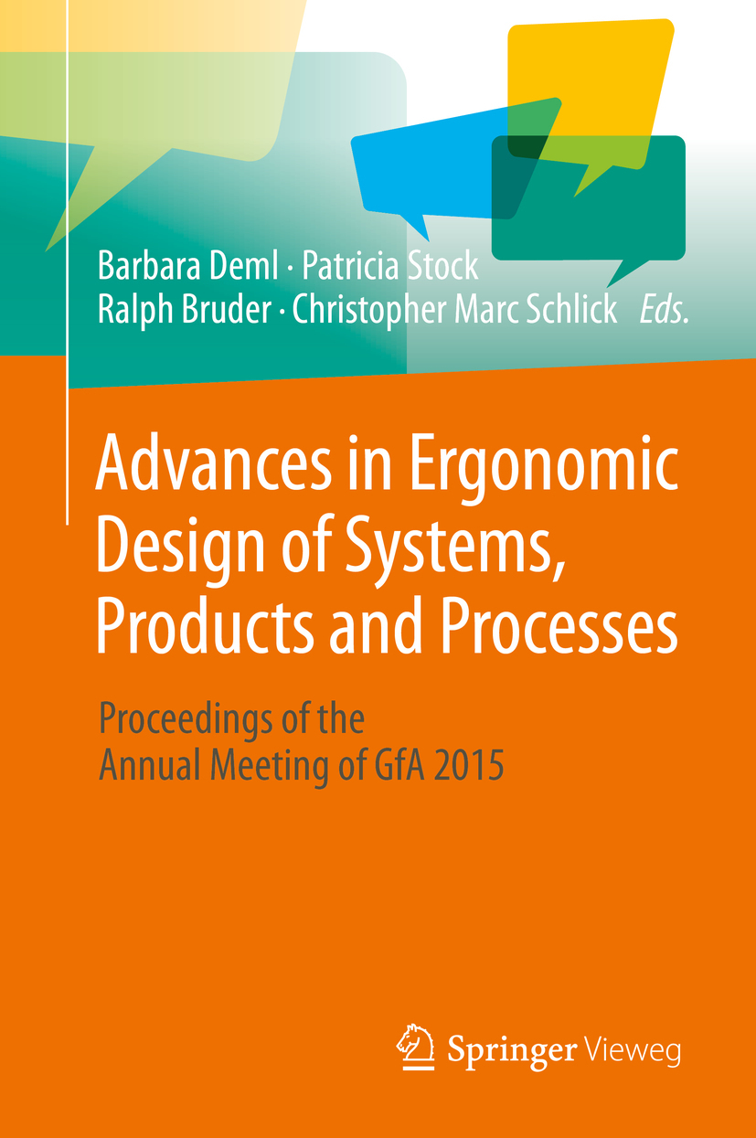 Bruder, Ralph - Advances in Ergonomic Design of Systems, Products and Processes, ebook